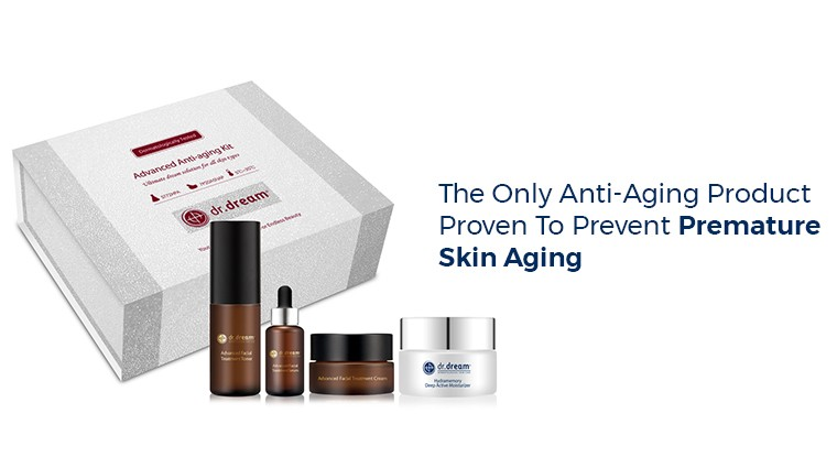 THE ONLY ANTI-AGING PRODUCT PROVEN TO PREVENT PREMATURE SKIN AGING